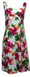 Hibiscus Watercolor Women's Sundress