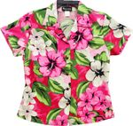 Watercolor Paint womens RJC fitted shirt