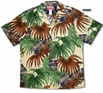 Hidden Leaf men's cotton aloha shirt