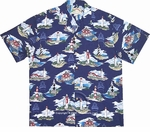 Historic Lighthouses Men's Rayon