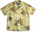 CLOSEOUT Honu Surfboards men's cotton shirt