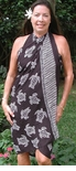 Honu Turtle half or full size pareo sarong