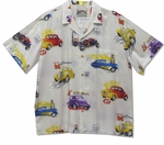Hot Rods Deuce Coup Fastest Cars Men's Rayon