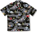 Hot Rods Drive In Men's Cotton Rayon Blend