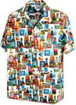 I Love Beer Cotton Hawaiian Shirt