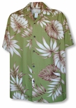Inspiration Monstera Men's Rayon Shirt