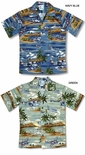 Island Aviation Boy's cotton airplane shirt