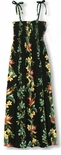 CLOSEOUT Island Bird of Paradise Panel Women's Rayon Sundress