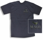 Island Lifestyle Maui Whale Cotton Tee Shirt