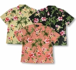 CLOSEOUT Island Paradise Flowers Women's Shirt