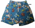 3X size Bamboo Boxer Islands Best Uni-sex Cotton Shorts