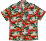 Islands in the sky Men's Hawaiian Shirt