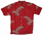 Java Palms Men's Luau Silk Blend Shirt
