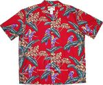 Jungle Bird Men's Tom Selleck Magnum PI Shirt