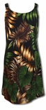 Jungle Experience Straight Cut A-Line Dress