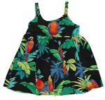 Jungle Parrots Bungee Strap Dress