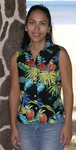 Jungle Parrots Women's Sleeveless Blouse