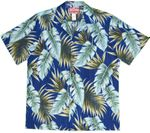 Jungle Path men's made in Hawaii cotton aloha shirt