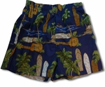 CLOSEOUT Kaena Bamboo Boxer Cotton Shorts