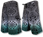 Kaluka Stretch Hawaiian Islands Creations (HIC) BoardShorts