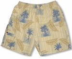 Kaylua Banana Tree kaylua bay mesh liner swim trunks