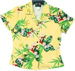 Tiny Tropical Garden womens RJC fitted shirt