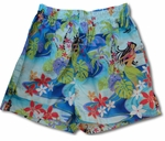 Lani Bamboo Boxer Cotton Shorts