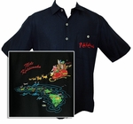 Santa's Last Stop Embroidered Shirt