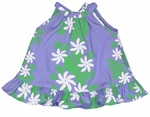 CLOSEOUT Laukahi Gardenia Girl's Halter 2pc