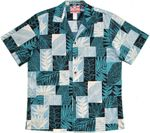 Local Leaf Bloom Flower Boxes men's cotton aloha shirt