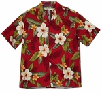Leilani HIbiscus men's Hawaiian shirt
