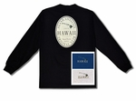 Lifestyle Hawaii long sleeve cotton Tee Shirt