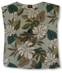 CLOUSEOUT Lovely Monstera Womens Pullover Blouse