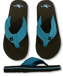 Luisa Rugged Shark Women's Woven Strap Flip-Flops