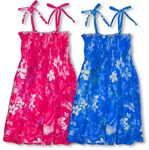 Luminous Flower Energy Girl's Rayon Spaghetti Strap Sundress