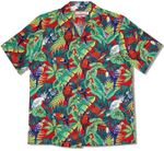Macaws Parrots Toucans men's shirt