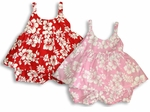 Maile Hibiscus Girl's Bungee 2pc Set