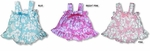 Maile Hibiscus Girl's Ruffle 2pc Set