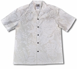 Makapu'u Men's Wedding White Shirt