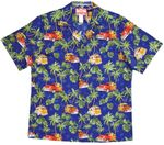 Many More Woodies Men's RJC Cotton Aloha Shirt