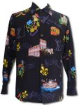 Mardi Gras Men's Long Sleeve Shirt
