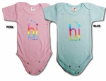 Maui Hawaii (HI) Rainbow Foil Unisex Infant Onesie