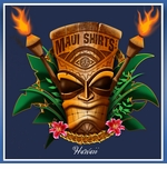 MauiShirts Hawaii Tiki God Cotton Tee Shirt