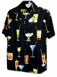 Maui Polynesian Cocktail drinks men's shirt