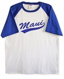 Pack of 2 Maui Swish Baseball Tee Shirts
