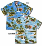 Maui Beachfront Waterfall men's shirt