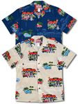 Mel's Diner Drive In men's aloha print Hawaiian shirt
