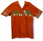 CLOSEOUT Mele Kalikimaka Men's Vintage 100% Rayon Shirt Small Only