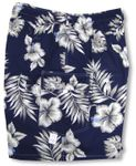 Men's 3X Hibiscus Monstera Shorts