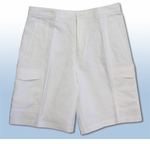 CLOSEOUT Cubavera mens linen blend cargo shorts